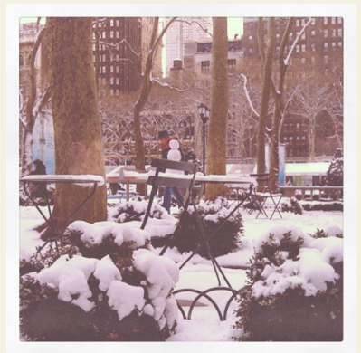 Desira Pesta_ Boy Makes Snowman