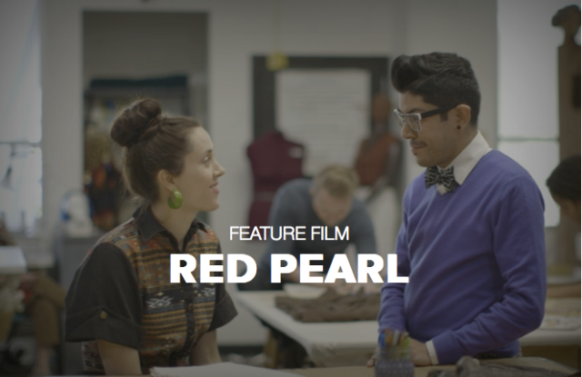 Myself & Mondo Guerra in a film still from RED PEARL
